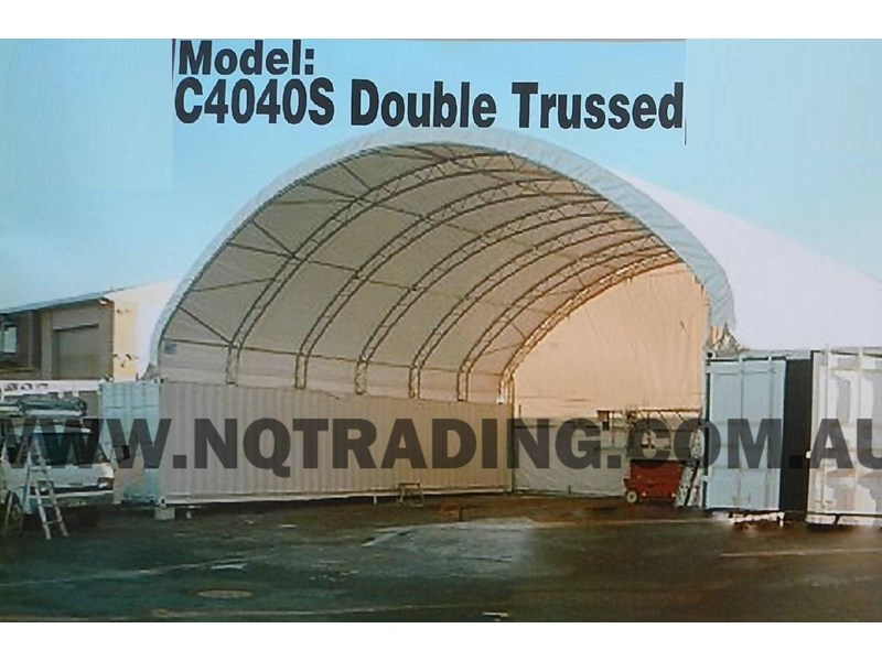 nq trading 40ft double trussed container shelter c4040d 343212 002