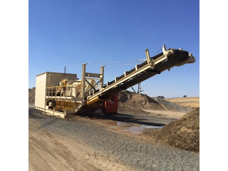 Portable Feed Mill : Q m e portable modular pug mill plant for sale
