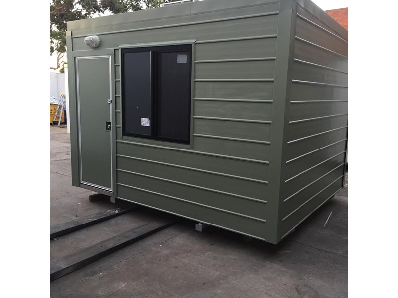 E I GROUP PORTABLES 3.6M X 3M INSULATED FIRE RATED ...