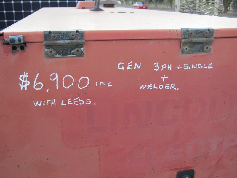 lincoln 405d electric welder generator 383369 009
