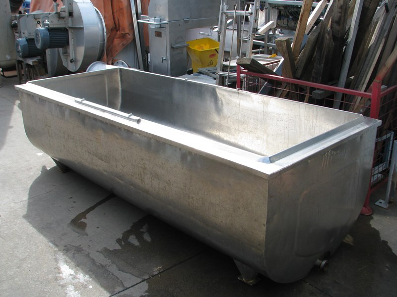 mirra jacketed stainless steel tank vat - 1600l 383744 001
