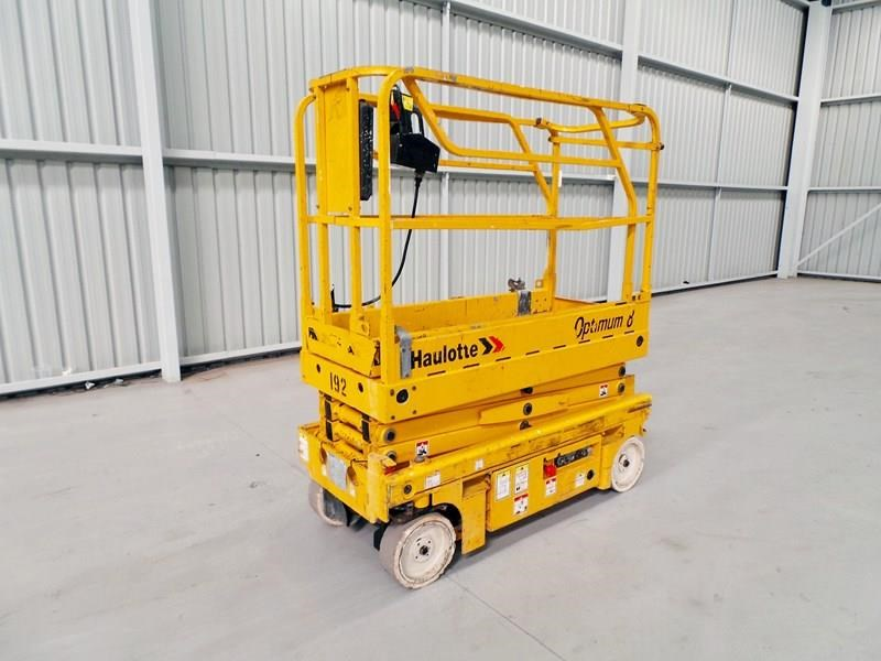 haulotte optimum 8 narrow scissor lift 326983 001
