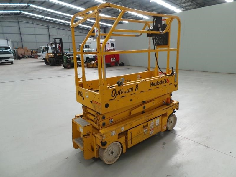 haulotte optimum 8 narrow scissor lift 326983 005
