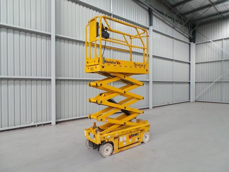 haulotte optimum 8 narrow scissor lift 326983 008