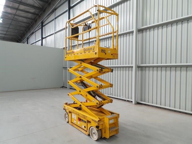 haulotte optimum 8 narrow scissor lift 326983 009
