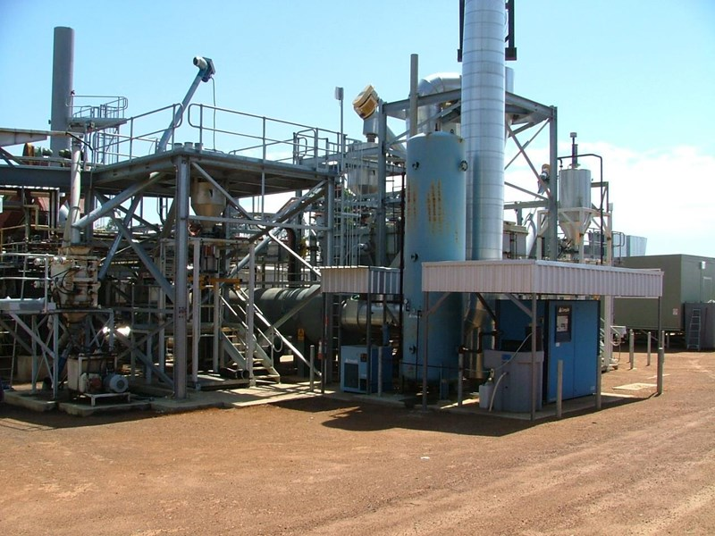 western power. mallee tree oil, bio-energy plant. 392804 003