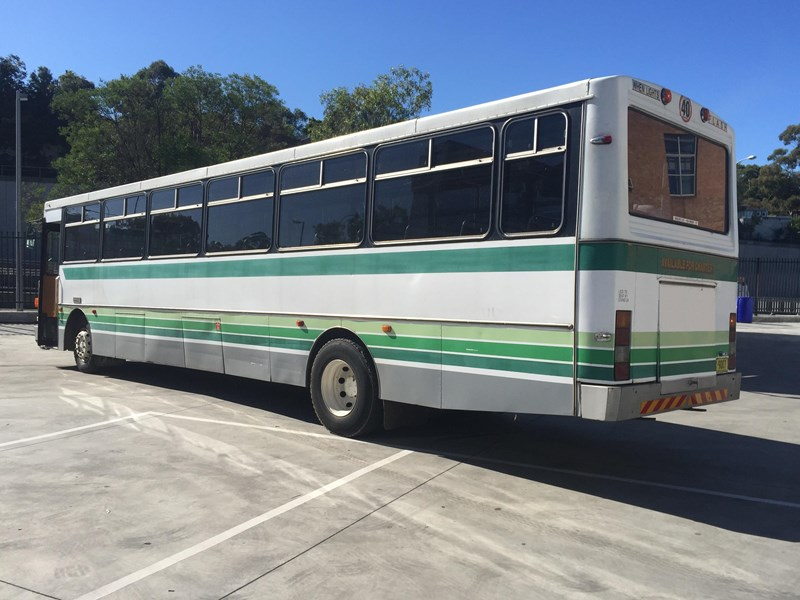 Mercedes benz oc1617 bus 1984 model for sale for Mercedes benz charter bus