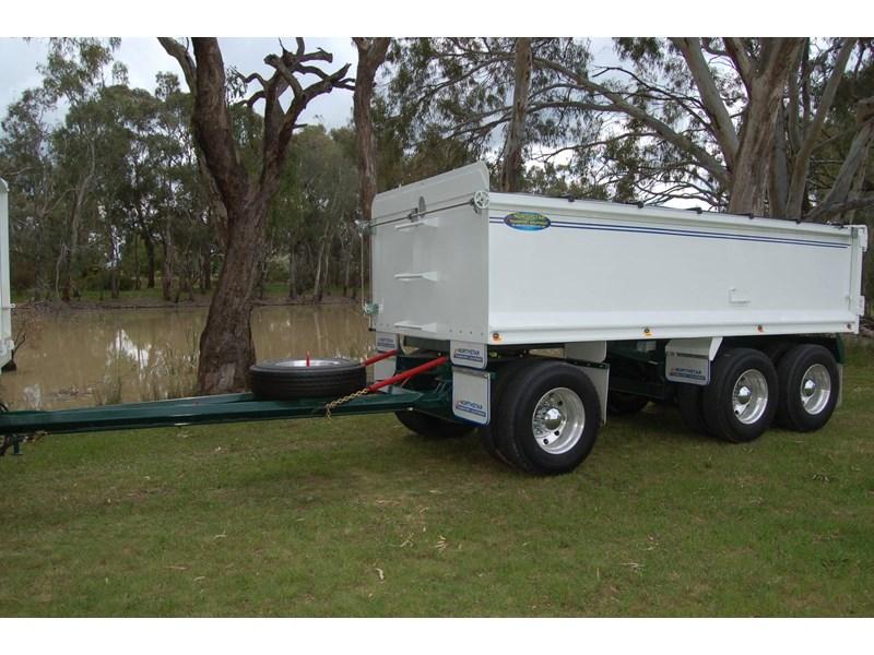 northstar transport equipment tipping dog trailer for sale. Black Bedroom Furniture Sets. Home Design Ideas
