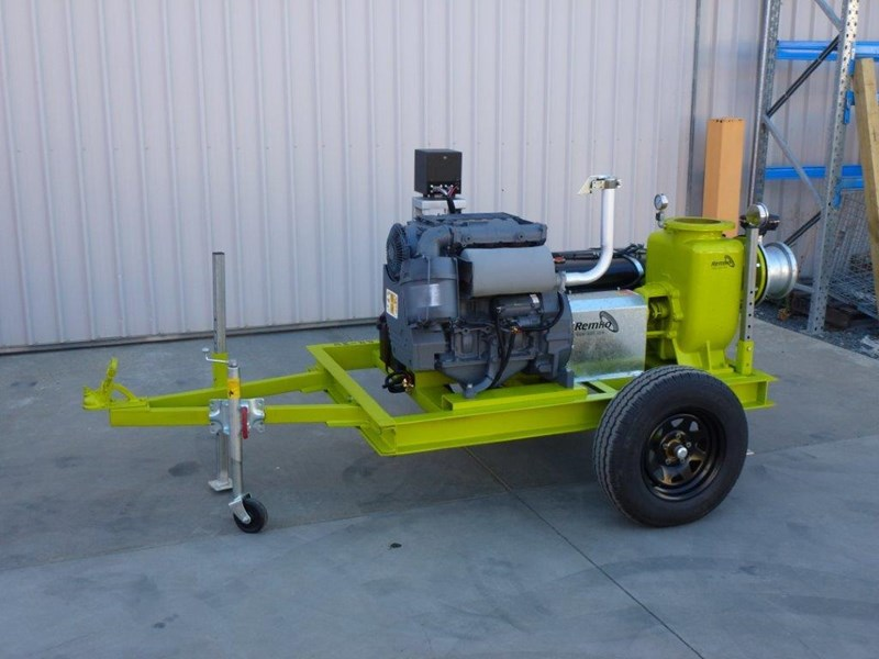 "remko rs200 8"" irrigation pump -trailer mounted 408301 004"