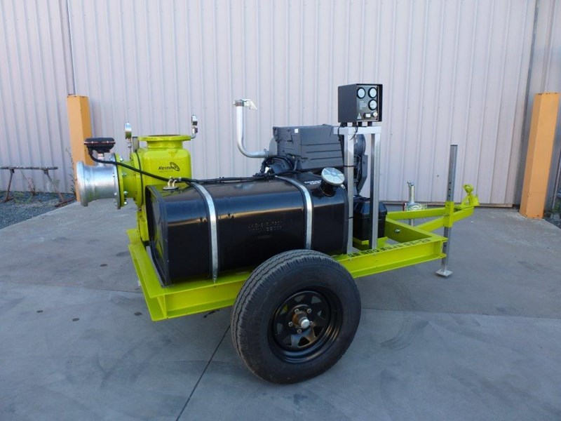 "remko rs200 8"" irrigation pump -trailer mounted 408301 014"
