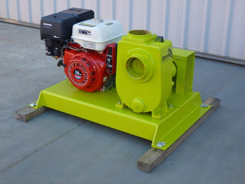 "remko rs-100 4"" petrol driven self priming pump 408320 001"