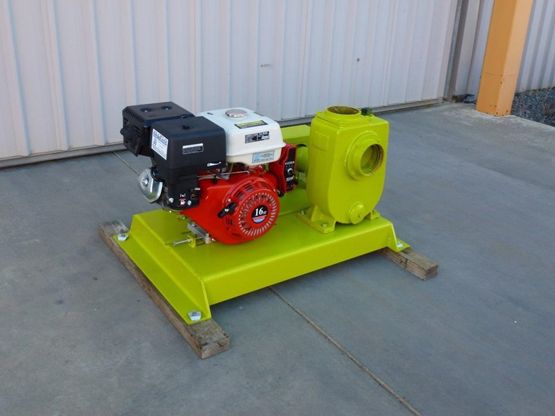"remko rs-100 4"" petrol driven self priming pump 408320 014"