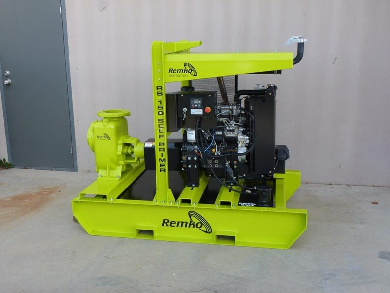 "remko rs-150 6"" self priming contractors pump package 408334 002"