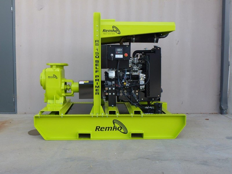 "remko rs-150 6"" self priming contractors pump package 408334 004"