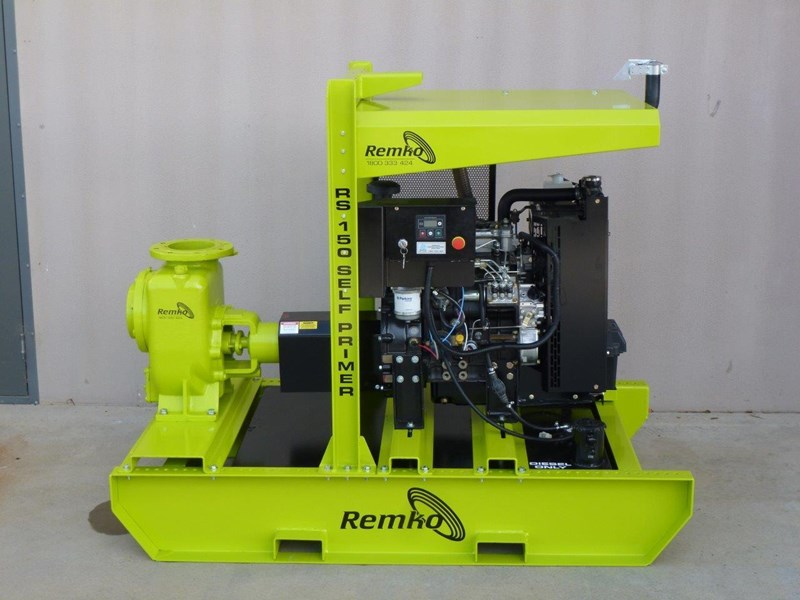 "remko rs-150 6"" self priming contractors pump package 408334 007"