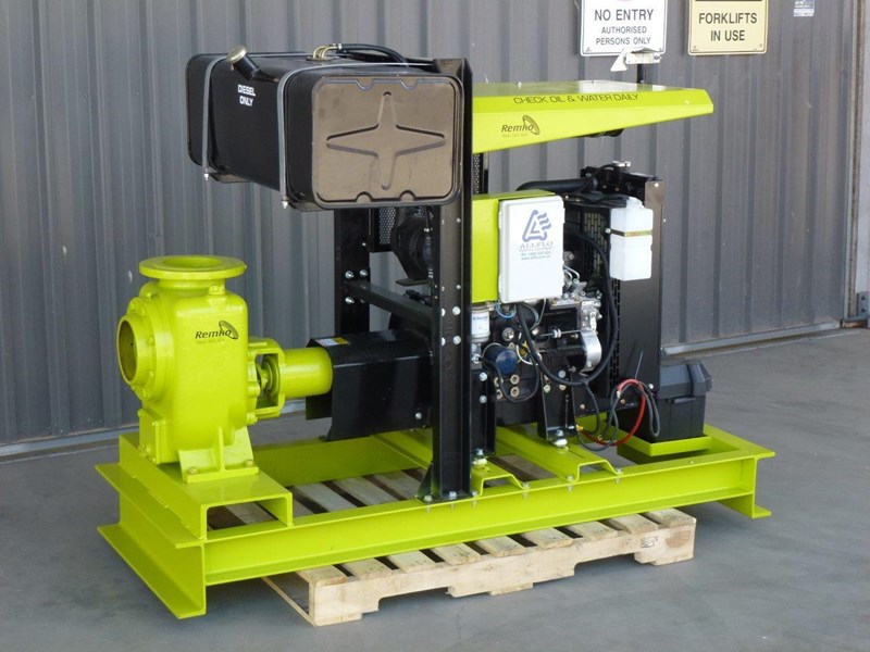 "remko remko rs-150 (6"") self-priming diesel driven pump package 408340 001"