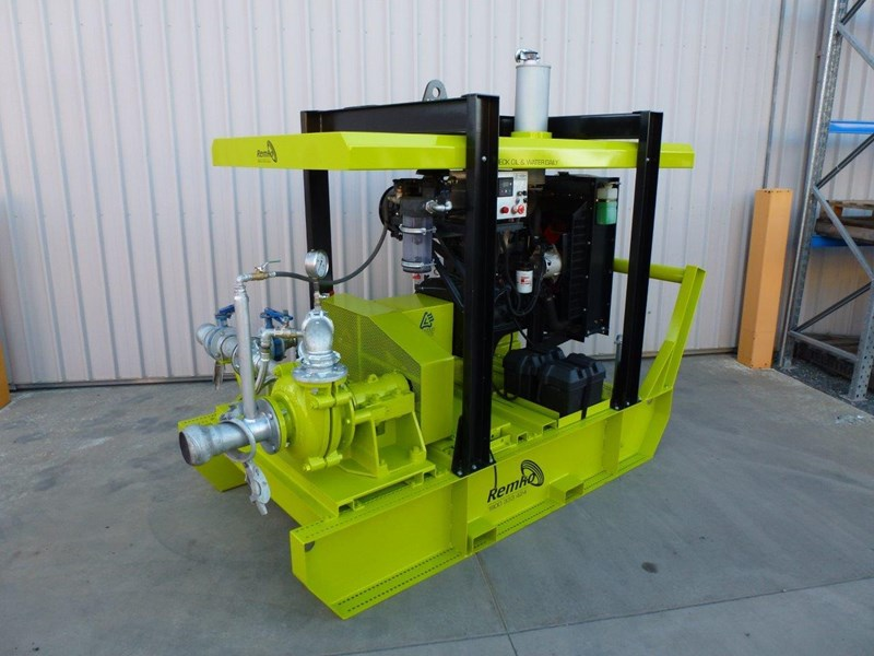 remko heavy duty diesel driven sand/sludge/slurry pump package 408395 012