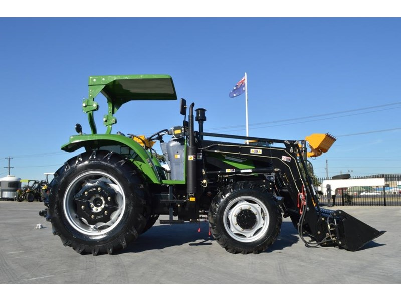 agrison 80hp cdf 4x4 4in1 bucket - 5 year warranty, free 6 ft slasher 424777 004