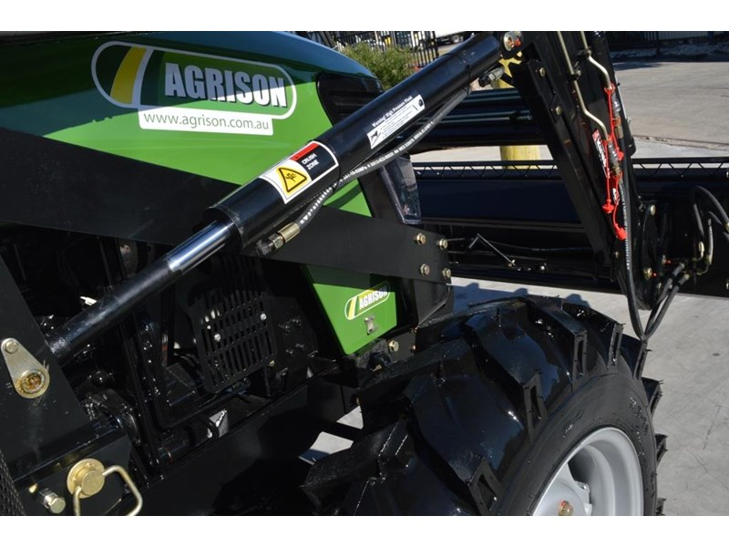 agrison 80hp cdf 4x4 4in1 bucket - 5 year warranty, free 6 ft slasher 424777 006