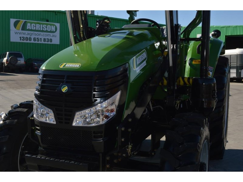agrison 80hp cdf 4x4 4in1 bucket - 5 year warranty, free 6 ft slasher 424777 017