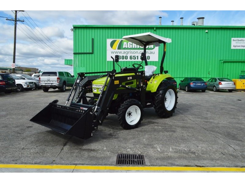 agrison 55hp ultra g3 + rops + 6ft slasher + front end loader (fel) + 4in1 bucket 429473 002