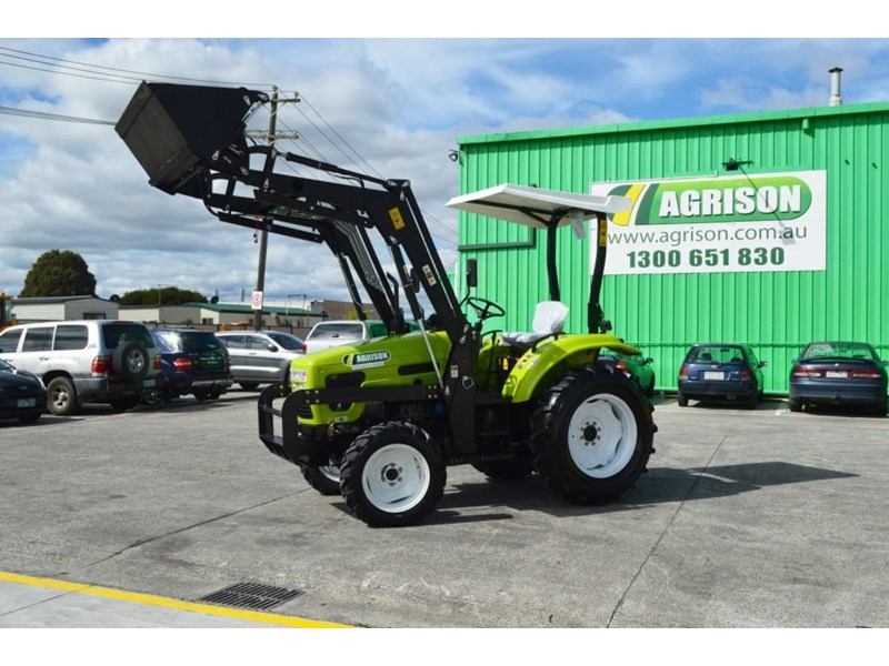 agrison 55hp ultra g3 + rops + 6ft slasher + front end loader (fel) + 4in1 bucket 429473 003