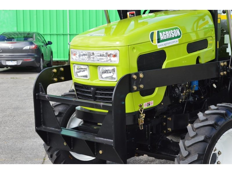 agrison 55hp ultra g3 + rops + 6ft slasher + front end loader (fel) + 4in1 bucket 429473 004