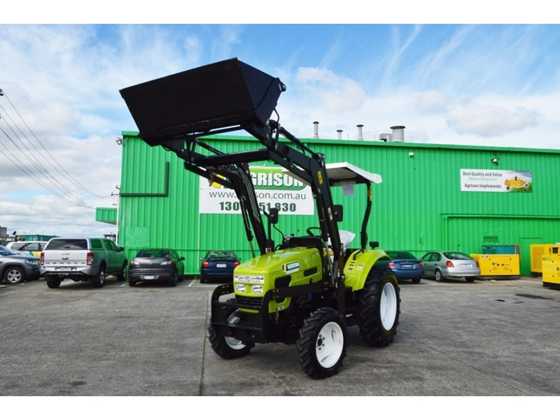 agrison 55hp ultra g3 + rops + 6ft slasher + front end loader (fel) + 4in1 bucket 429473 005