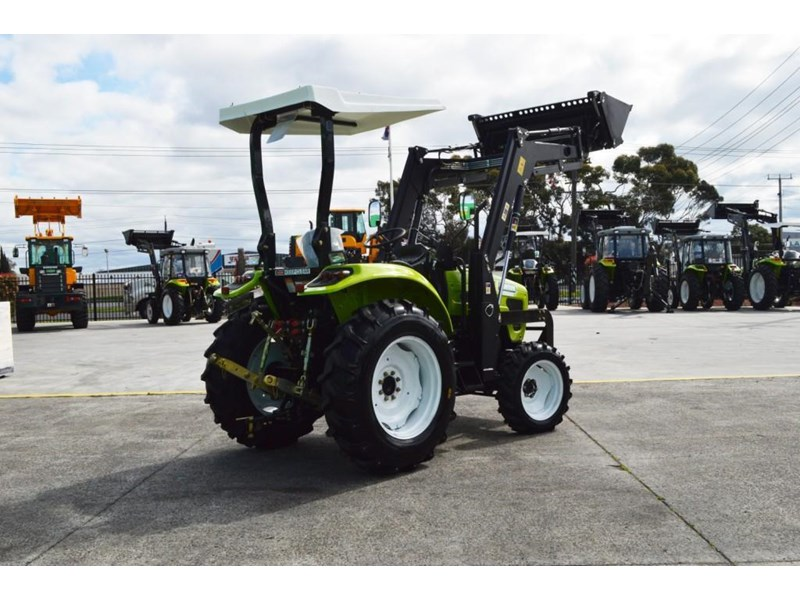 agrison 55hp ultra g3 + rops + 6ft slasher + front end loader (fel) + 4in1 bucket 429473 009