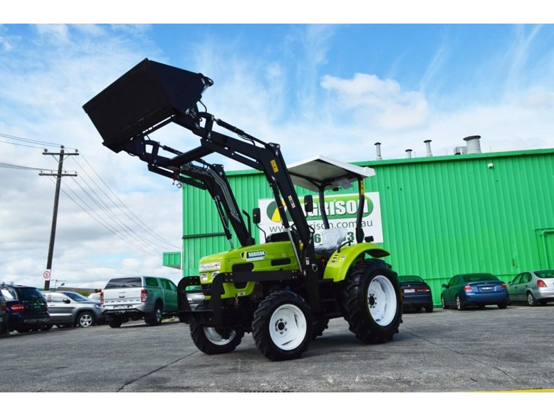 agrison 55hp ultra g3 + rops + 6ft slasher + front end loader (fel) + 4in1 bucket 429473 011