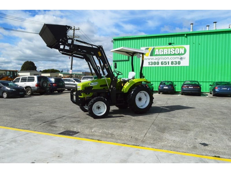 agrison 55hp ultra g3 + rops + 6ft slasher + front end loader (fel) + 4in1 bucket 429473 012