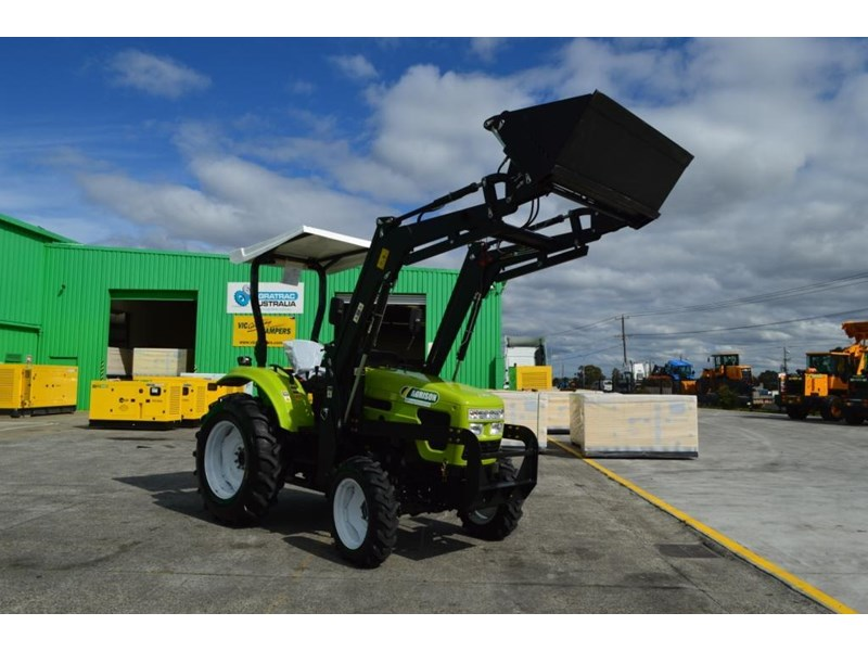 agrison 55hp ultra g3 + rops + 6ft slasher + front end loader (fel) + 4in1 bucket 429473 024
