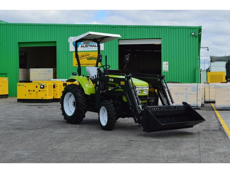 agrison 55hp ultra g3 + rops + 6ft slasher + front end loader (fel) + 4in1 bucket 429473 026