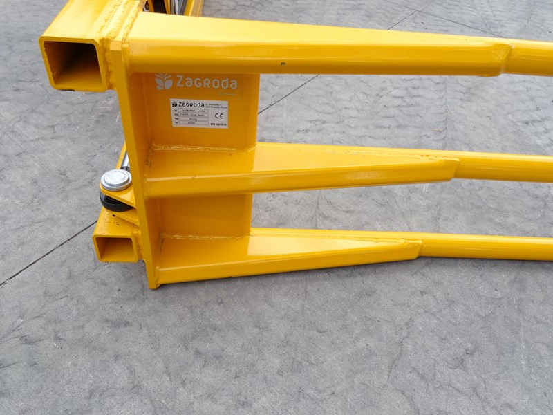 zagroda parallel arm bale grab for  square or round bales 431392 013