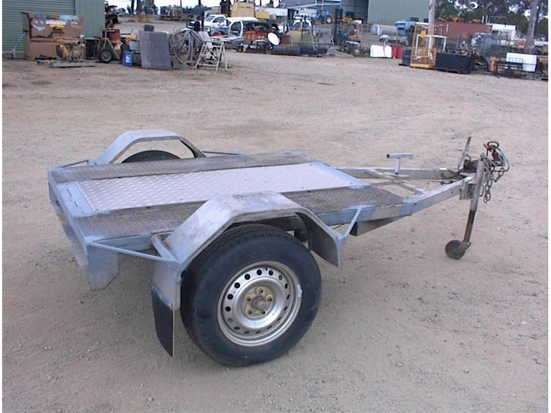 single axle trailer 437363 004