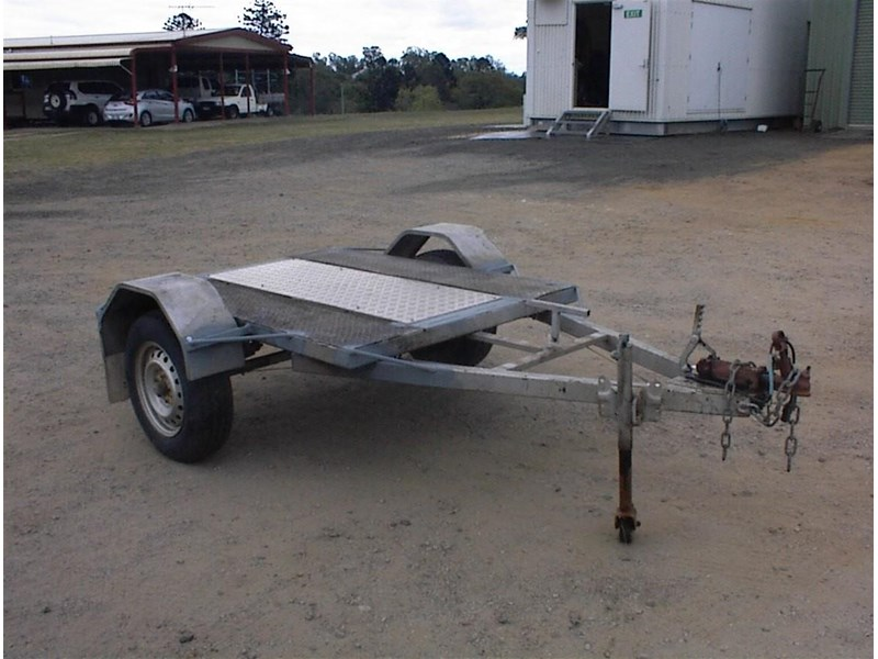 single axle trailer 437363 005