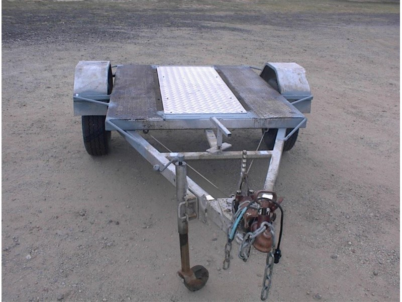 single axle trailer 437363 006