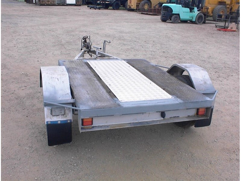 single axle trailer 437363 003
