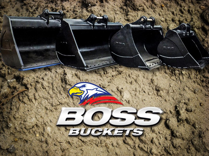 boss attachments 20t mud bucket  - in stock 446776 001