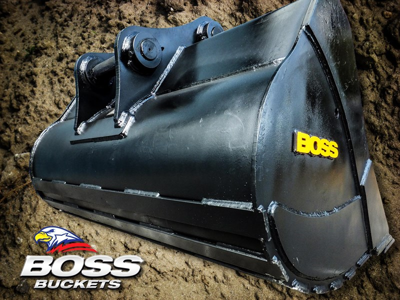 boss attachments 20t mud bucket  - in stock 446776 004