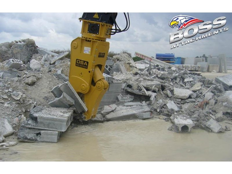boss attachments osa rs series demolition shears  - in stock 446775 012