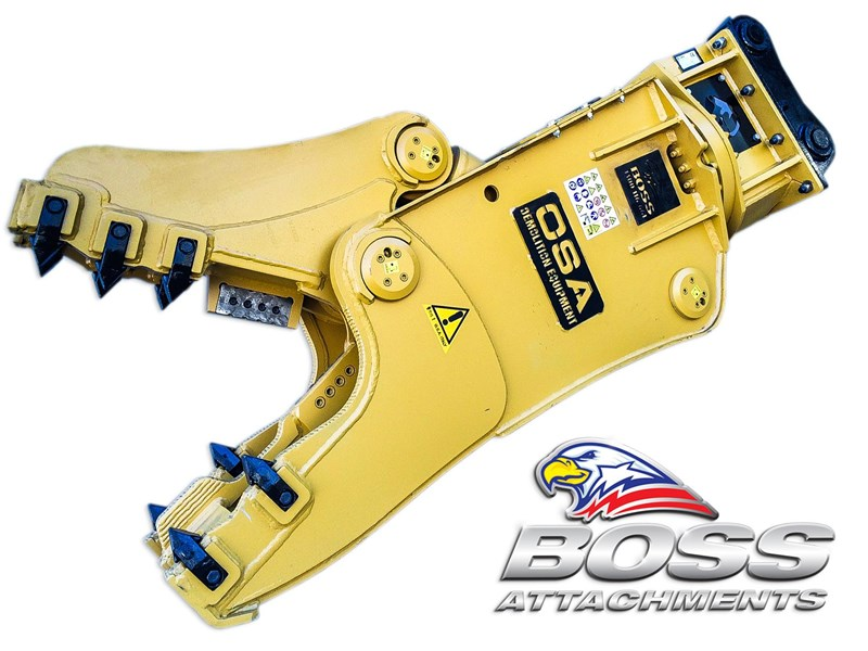 boss attachments osa rs series demolition shears  - in stock 446775 016