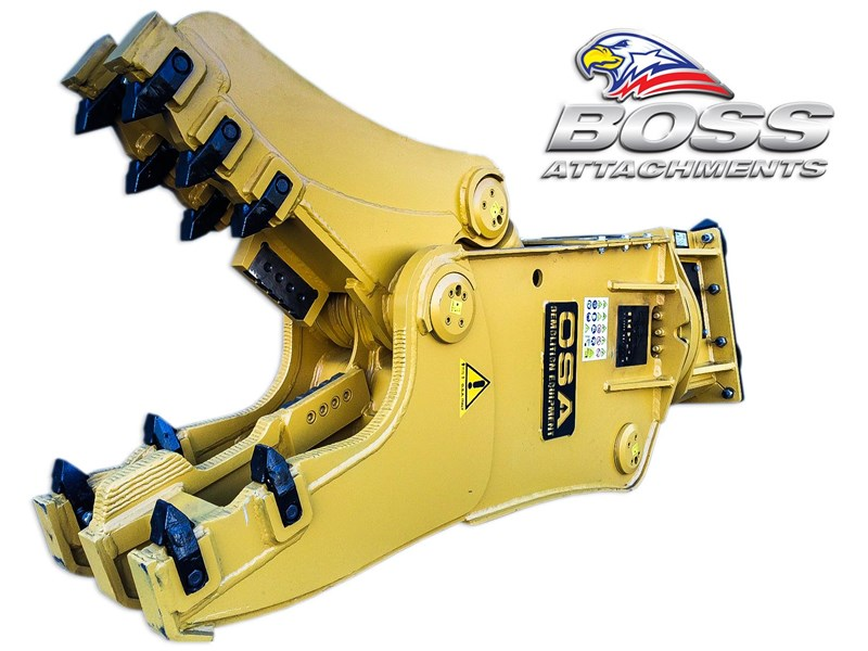 boss attachments osa rs series demolition shears  - in stock 446775 017