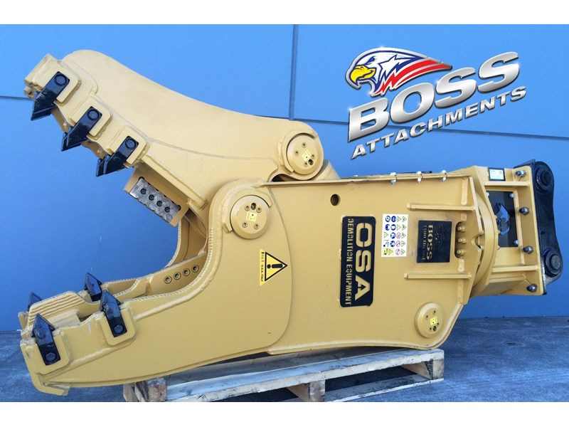 boss attachments osa rs series demolition shears  - in stock 446775 020