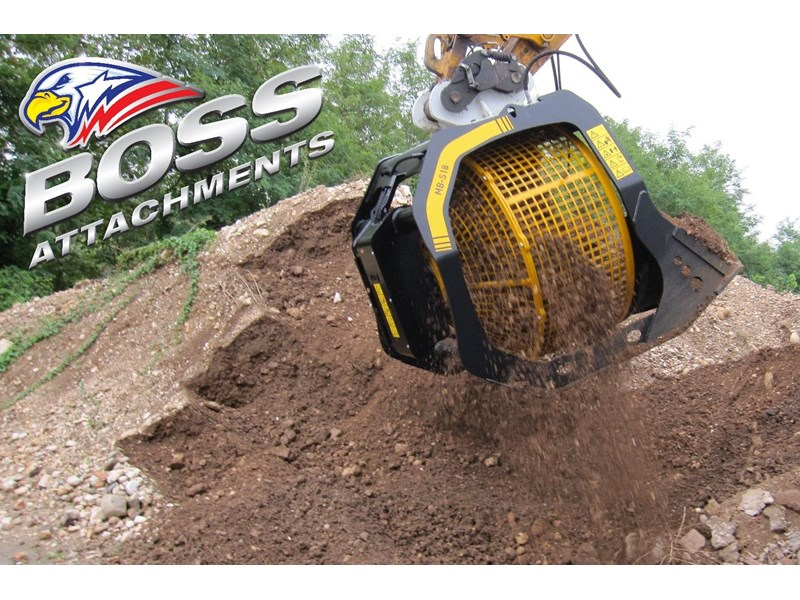 mb screen buckets boss mb s18 screening bucket - in stock 450584 006