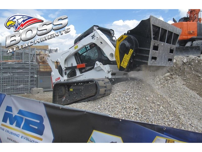 mb boss-mb l 140 crusher bucket in stock 450598 008