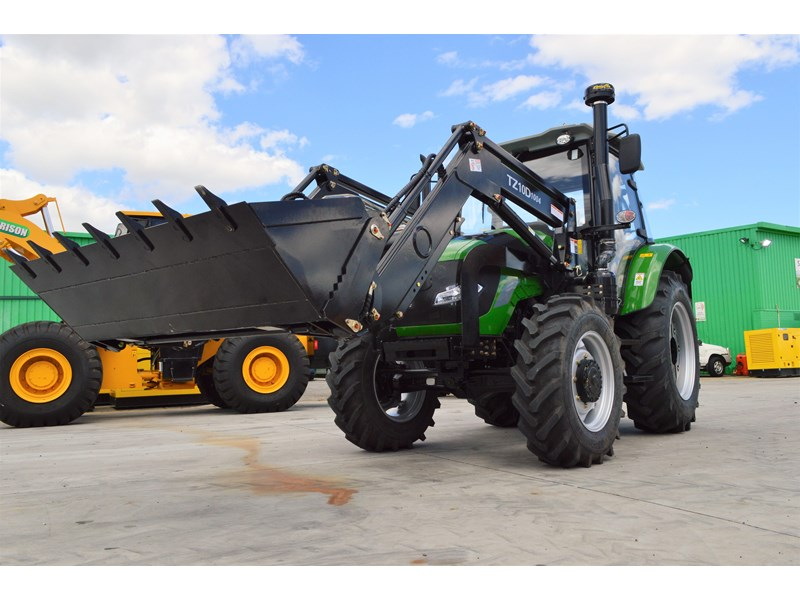 agrison 100hp cdf + 4 in 1 bucket + fel + tinted windows 455237 007