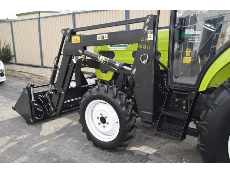 agrison agrison 60hp ultra g3 + turbo + aircon + 6ft slasher + tinted windows 129373 021