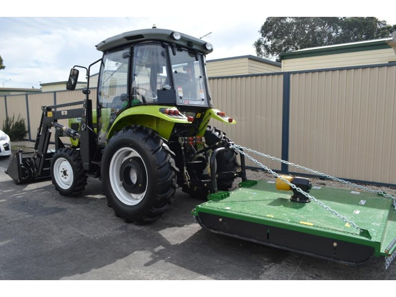 agrison agrison 60hp ultra g3 + turbo + aircon + 6ft slasher + tinted windows 129373 022
