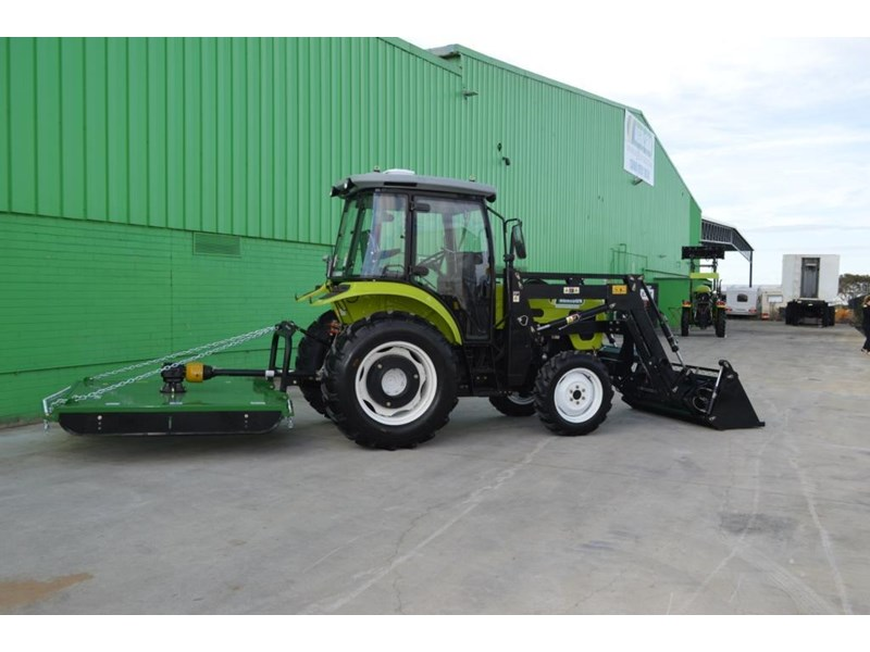 agrison agrison 60hp ultra g3 + turbo + aircon + 6ft slasher + tinted windows 129373 035